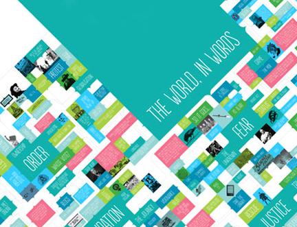 The 2012 programme: rethinking the world around us
