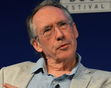 Ian McEwan with Alex Salmond (2012 event)