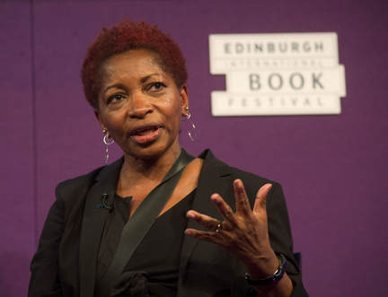 'To disarm America would be to dismantle the constitution of the United States' says Bonnie Greer at the Edinburgh International Book Festival