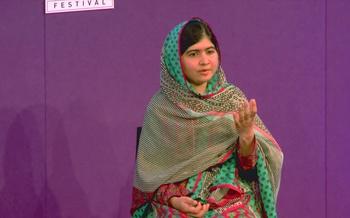 Malala Yousafzai (2014 event)