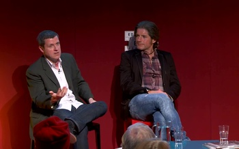Charlie Adlard and Robbie Morrison (2014 event)