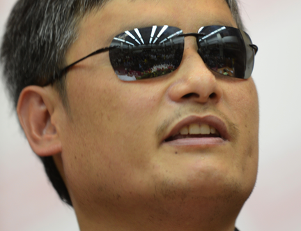 """Chen Guangcheng, has warned that China poses a """"threat to humanity"""""""