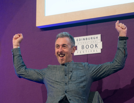 Hollywood Star Alan Cumming Speaks at the Edinburgh International Book Festival