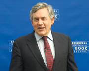 Gordon Brown accuses the Conservative Party of risking the future of the UK