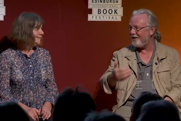 Julia Donaldson and Peter May (2015 Event)