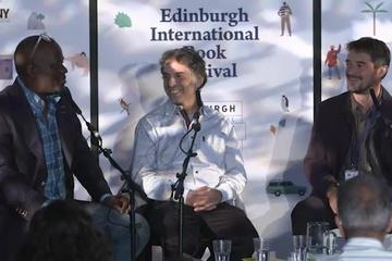 Etgar Keret and Alain Mabanckou (2015 Event)