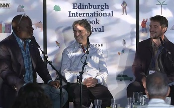 Etgar Keret and Alain Mabanckou (2015 Event)