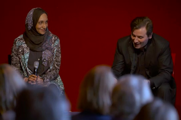 Leila Aboulela & Alessandro Gallenzi (2015 Event)