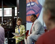 Alaa Al Aswany - A Voice for Egypt at the Book Festival