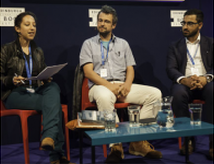 Stories of War, Flight and Refuge at the Book Festival