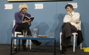 Tim Burgess with Ian Rankin (2016 Event)