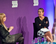 Susan Greenfield with Kirsty Wark (2013 event)