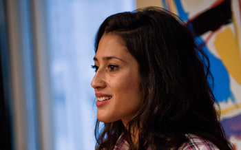 Fatima Bhutto & Fay Weldon (2010 event)