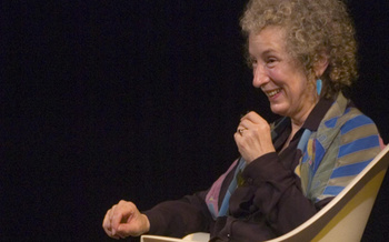 Margaret Atwood - event with Alice Munro
