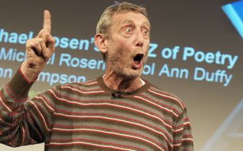 The A-Z of Poetry with Michael Rosen, Carol Ann Duffy, Tom Pow & John Sampson