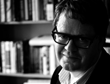 James Runcie speaks at the Edinburgh International Book Festival