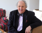 A World First with Alexander McCall Smith at Edinburgh International Book Festival