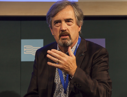 Irish Author Sebastian Barry Speaks Eloquently at the Book Festival