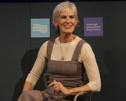 Judy Murray speaks at the Edinburgh International Book Festival