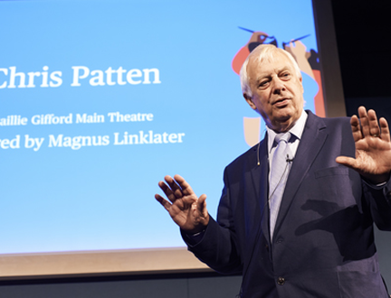 Chris Patten on Brexit, Hong Kong and Jacob Rees-Mogg