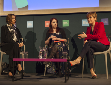 """Scotland's First Minister Admits """"Nationalism"""" A Difficult Word at Book Festival"""