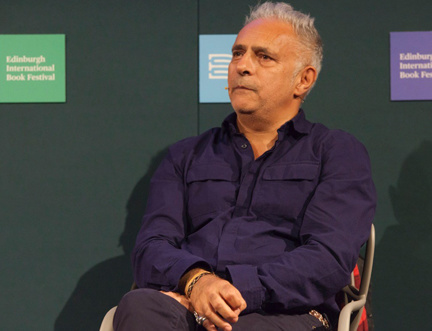 Hanif Kureishi Speaks on Writing, His Career and His New TV Project at the Edinburgh International Book Festival