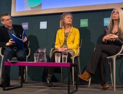 Musicians Evelyn Glennie & Sally Beamish in Conversation with David Mitchell At the Edinburgh International Book Festival