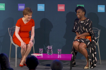 Chimamanda Ngozi Adichie with Nicola Sturgeon (2017 Event)