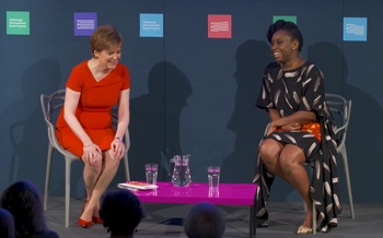 Chimamanda Ngozi Adichie with Nicola Sturgeon (2017 Event)