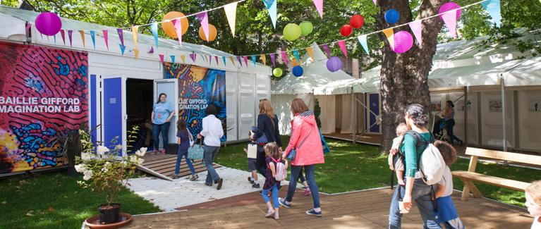 Edinburgh Festivals - Edinburgh International Book Festival