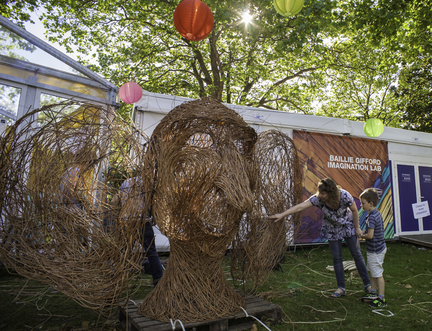 Weaving a Wizardly Willow Sculpture