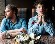 Michael Pedersen's Oyster Party for Scott Hutchison