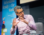 Capitalism needs to find a new 21st century narrative in order to survive,  says BBC's Economics Editor Kamal Ahmed at the Edinburgh International Book Festival
