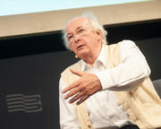 'Strong Female Characters Don't Require Weak Males' insists Philip Pullman in Book Festival event