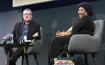 Zindzi Mandela with Allan Little (2018 Event)