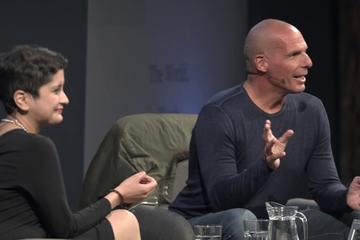 Yanis Varoufakis with Shami Chakrabarti (2018 Event)