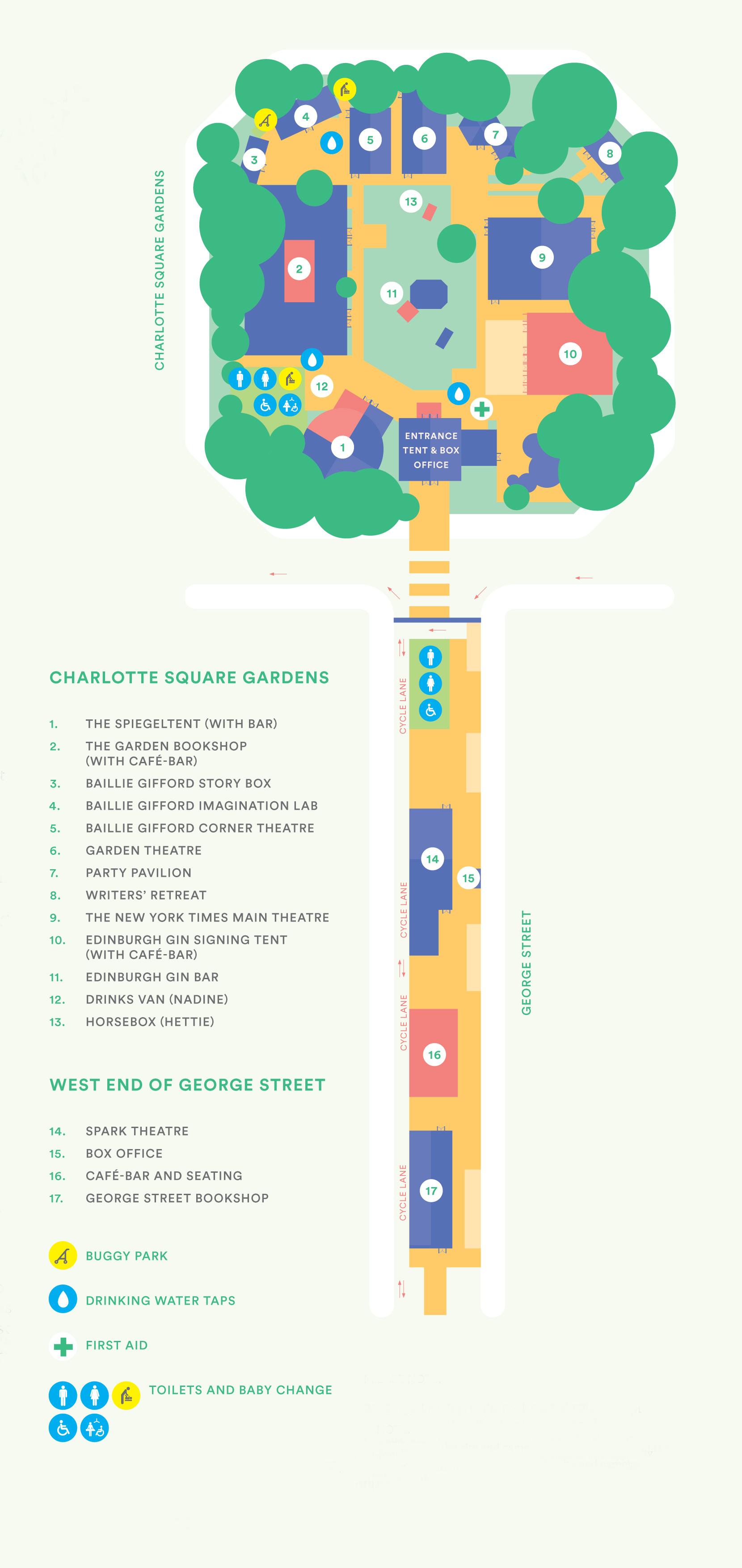 Festival Map 2019