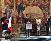 Director of Edinburgh International Book Festival awarded the Ordre National du Mérite by French Ambassador