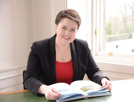 """The only way to avoid No Deal is to vote for a deal,"" according to Ruth Davidson"