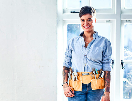 """""""I wanted to write a book unlike any other, one that's useful."""" says Jack Monroe."""