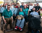 Edinburgh International Book Festival wins a Euan's Guide Accessibility Award for the fourth year running