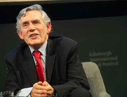 """The tragedy of Scotland at the moment is that there are two extreme positions,  and we're trapped between them,"" according to Gordon Brown"