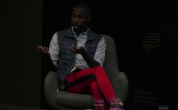 DeRay Mckesson at the Edinburgh International Book Festival