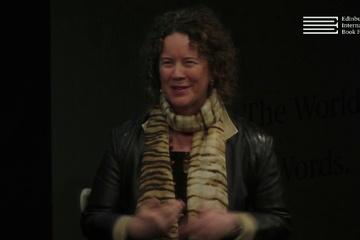 Allan Little, Sheena McDonald & Gail Robinson at the Edinburgh International Book Festival