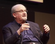 Salman Rushdie at the Edinburgh International Book Festival