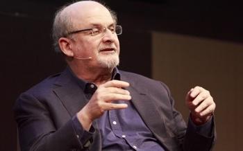 Salman Rushdie at the Edinburgh International Book Festival