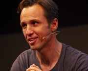 Markus Zusak at the Edinburgh International Book Festival