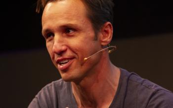 Markus Zusak at the Edinburgh International Book Festival