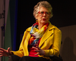 Prue Leith at the Edinburgh International Book Festival