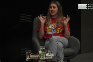 Gina Martin at the Edinburgh International Book Festival